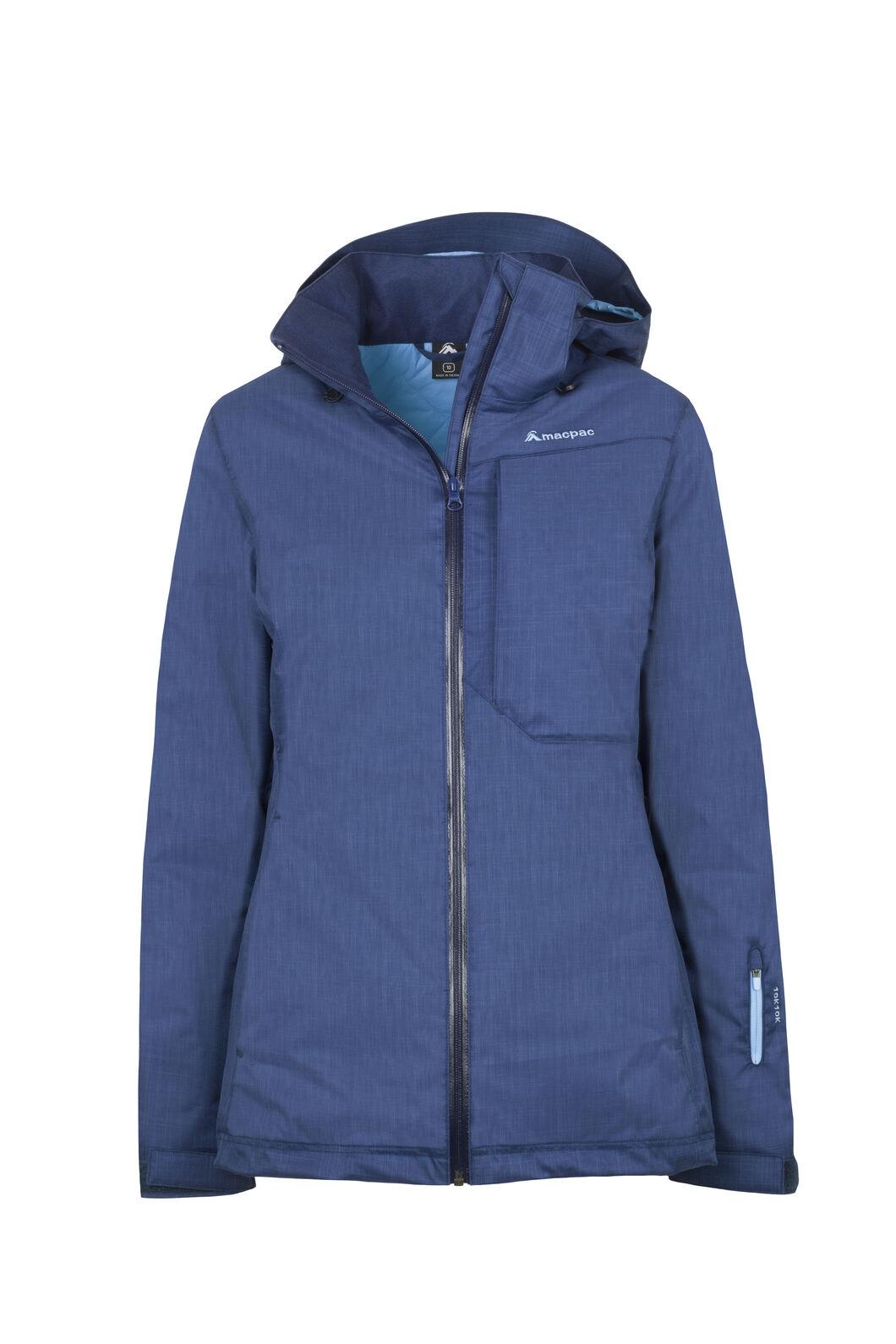 Macpac Powder Ski Jacket - Women's, Medieval/Ethereal Blue, hi-res
