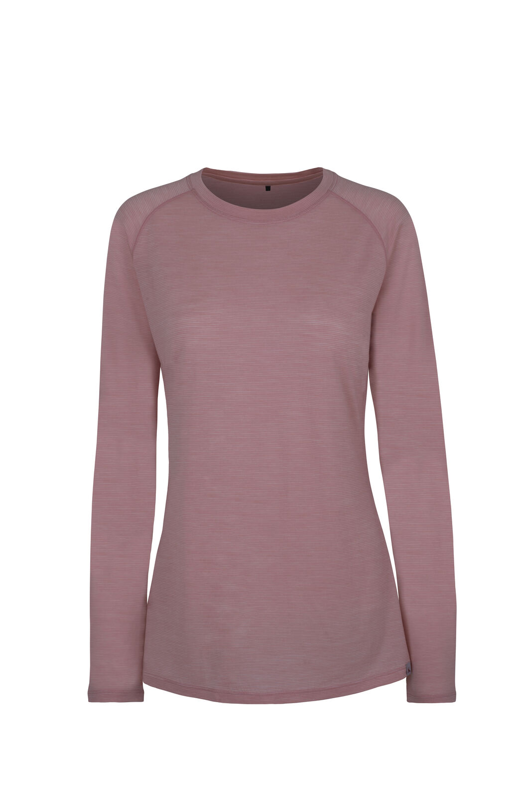 Macpac Hyland Merino Blend Long Sleeve - Women's, Misty Rose, hi-res