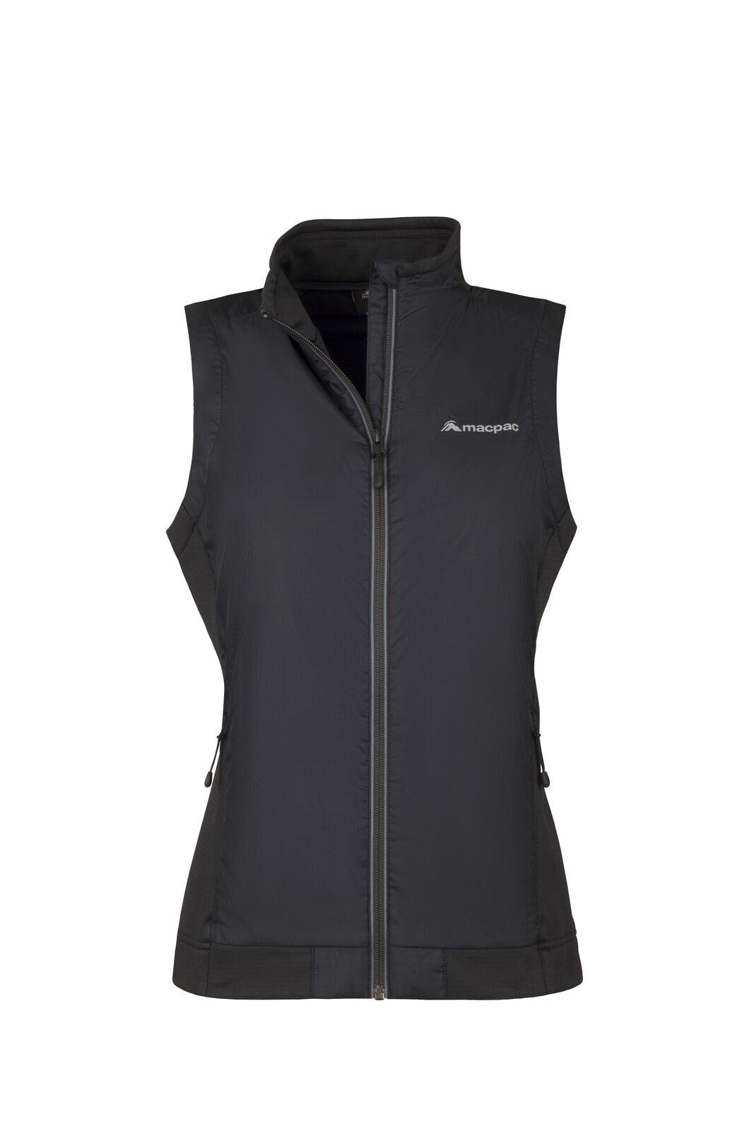 Macpac Saros Polartec® Alpha® Vest - Women's, Black, hi-res