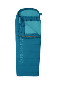 Macpac Roam 160 Sleeping Bag — Kids', Morrocan Blue/Larkspur, hi-res