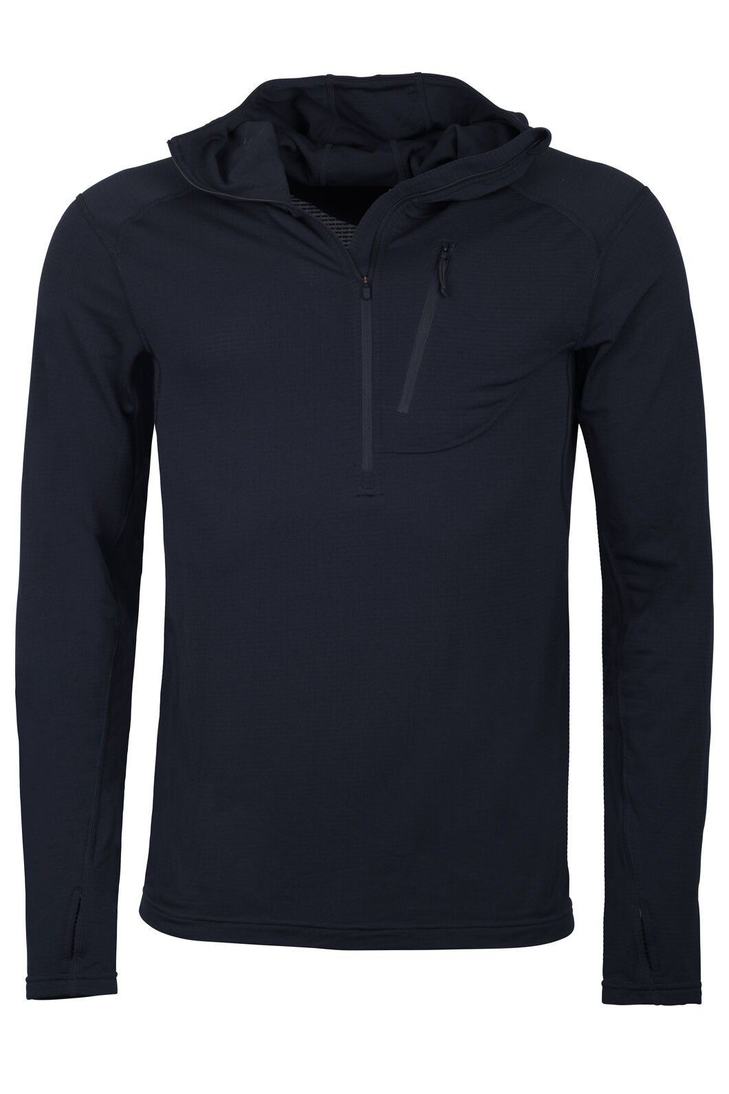 Macpac ProThermal Hooded Top - Men's, Black, hi-res