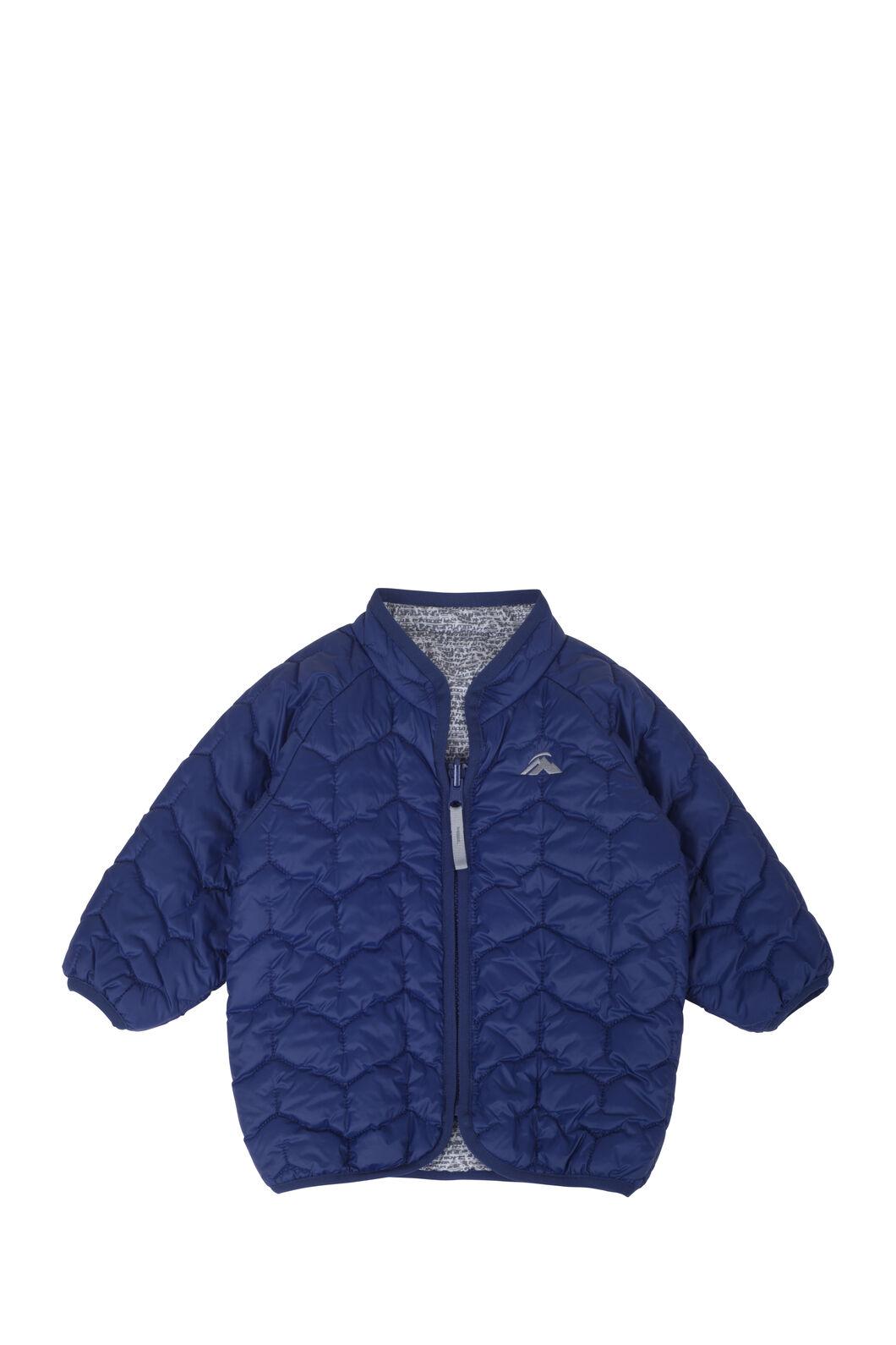 Macpac Pulsar PrimaLoft® Jacket - Baby, Medieval Blue, hi-res
