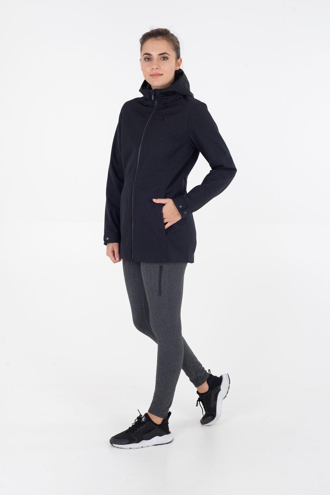 Macpac Chord Softshell Jacket - Women's, Black, hi-res