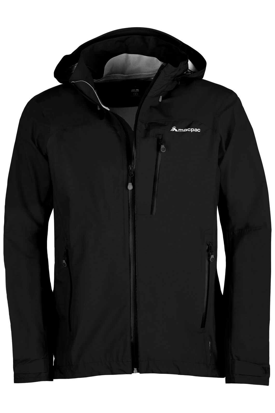 Macpac Traverse Pertex® Shield Rain Jacket V2 - Men's, Black, hi-res