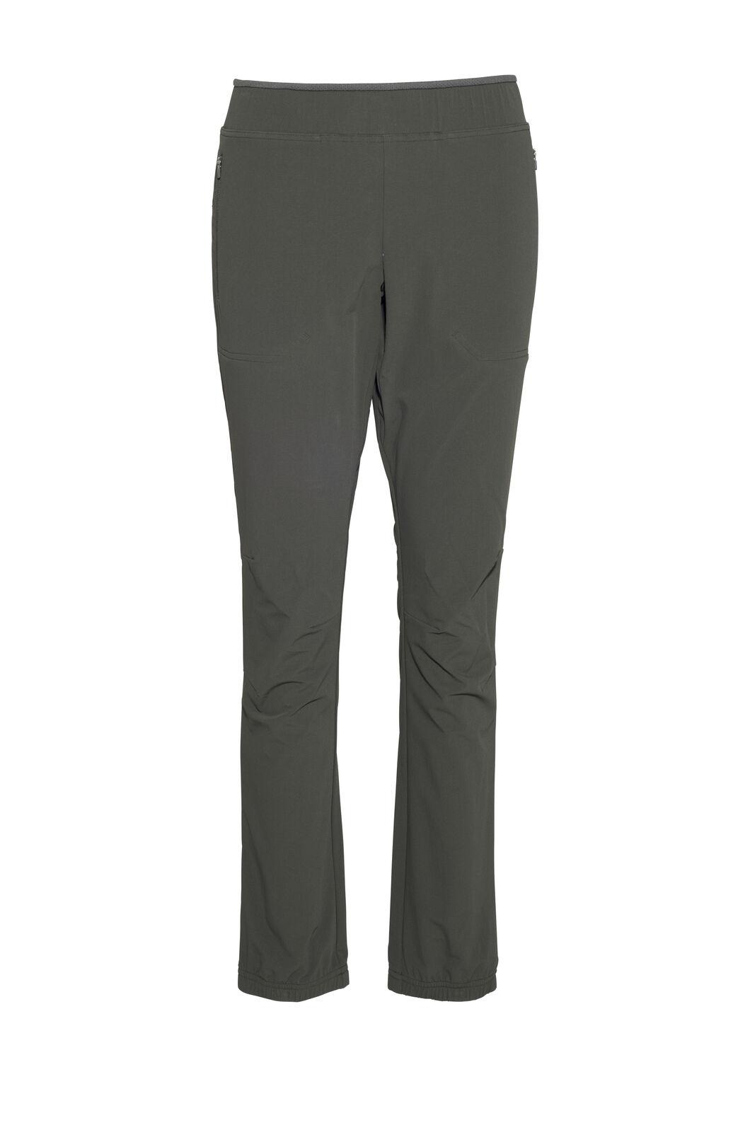 Macpac Hike Tight Pertex® Softshell Pants — Women's, Peat, hi-res