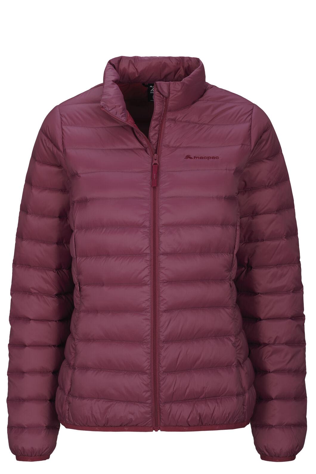 Macpac Women's Uber Light Down Jacket, Dry Rose, hi-res