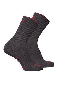 Macpac Hiker Socks — 2 Pack, Grey Melange, hi-res