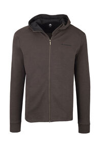 Macpac Ohau 320 Merino Hooded Jacket — Men's, Black Olive, hi-res