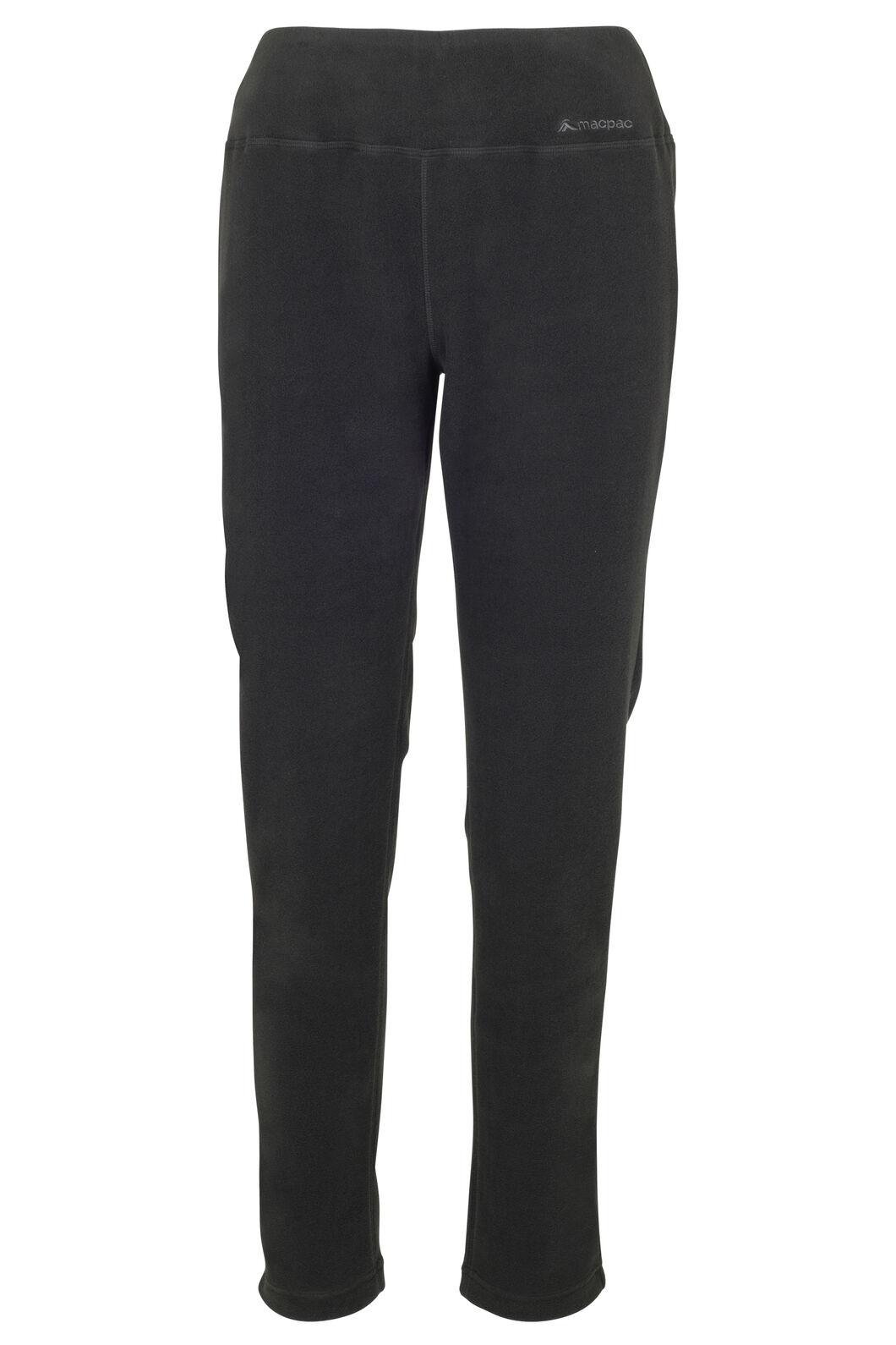 Macpac Tui Polartec® Micro Fleece® Pants — Women's, Black, hi-res