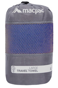 Macpac Travel Towel Large, Sodalite Blue, hi-res