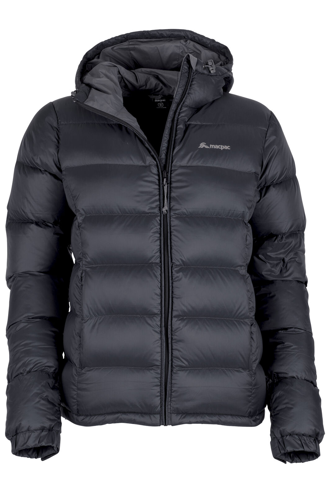 Halo Hooded Down Jacket - Women's, Black, hi-res