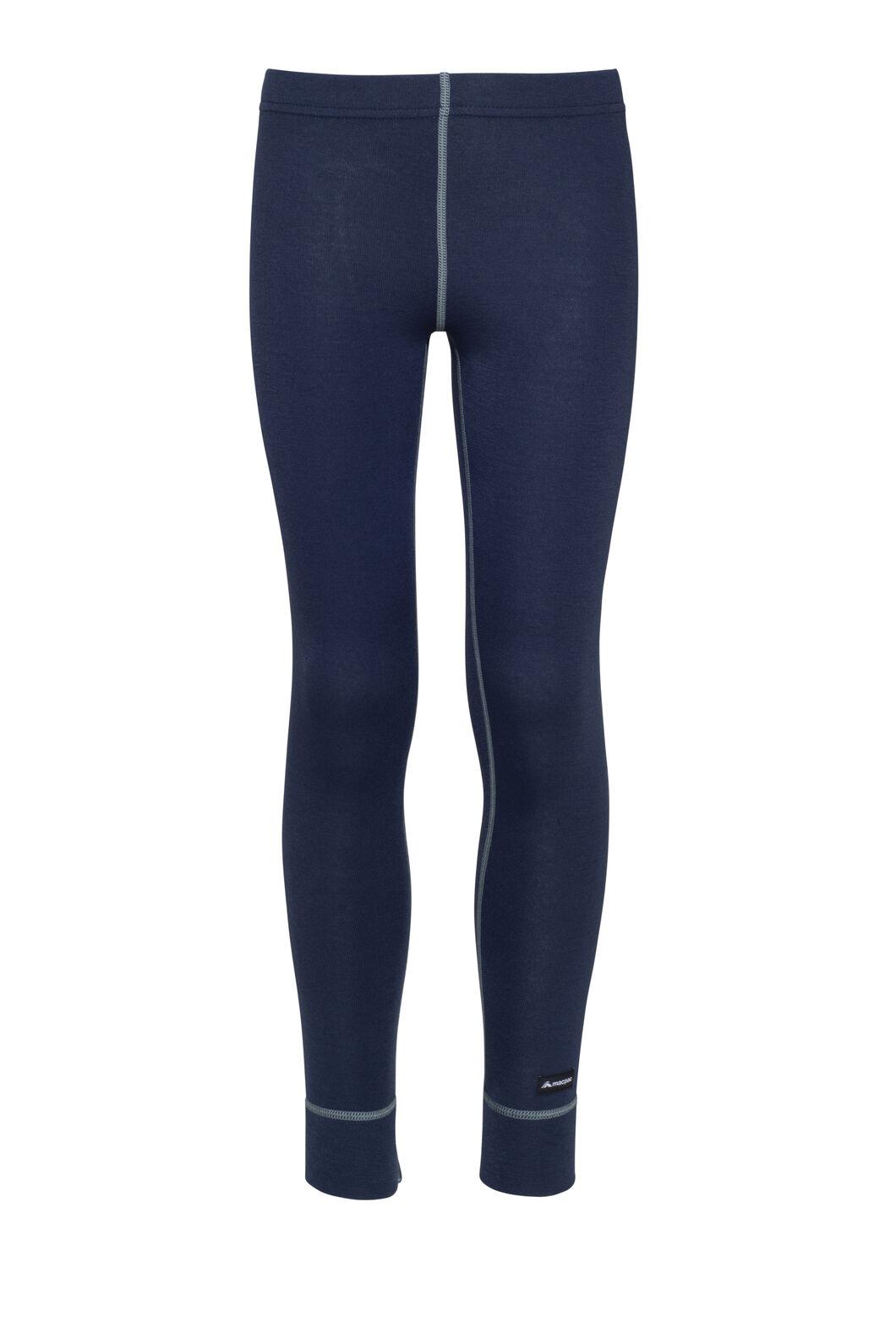 Macpac Geothermal Pants — Kids', Black Iris, hi-res