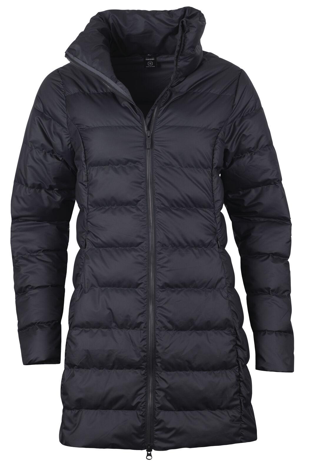 Demi Down Coat - Women's, Black, hi-res