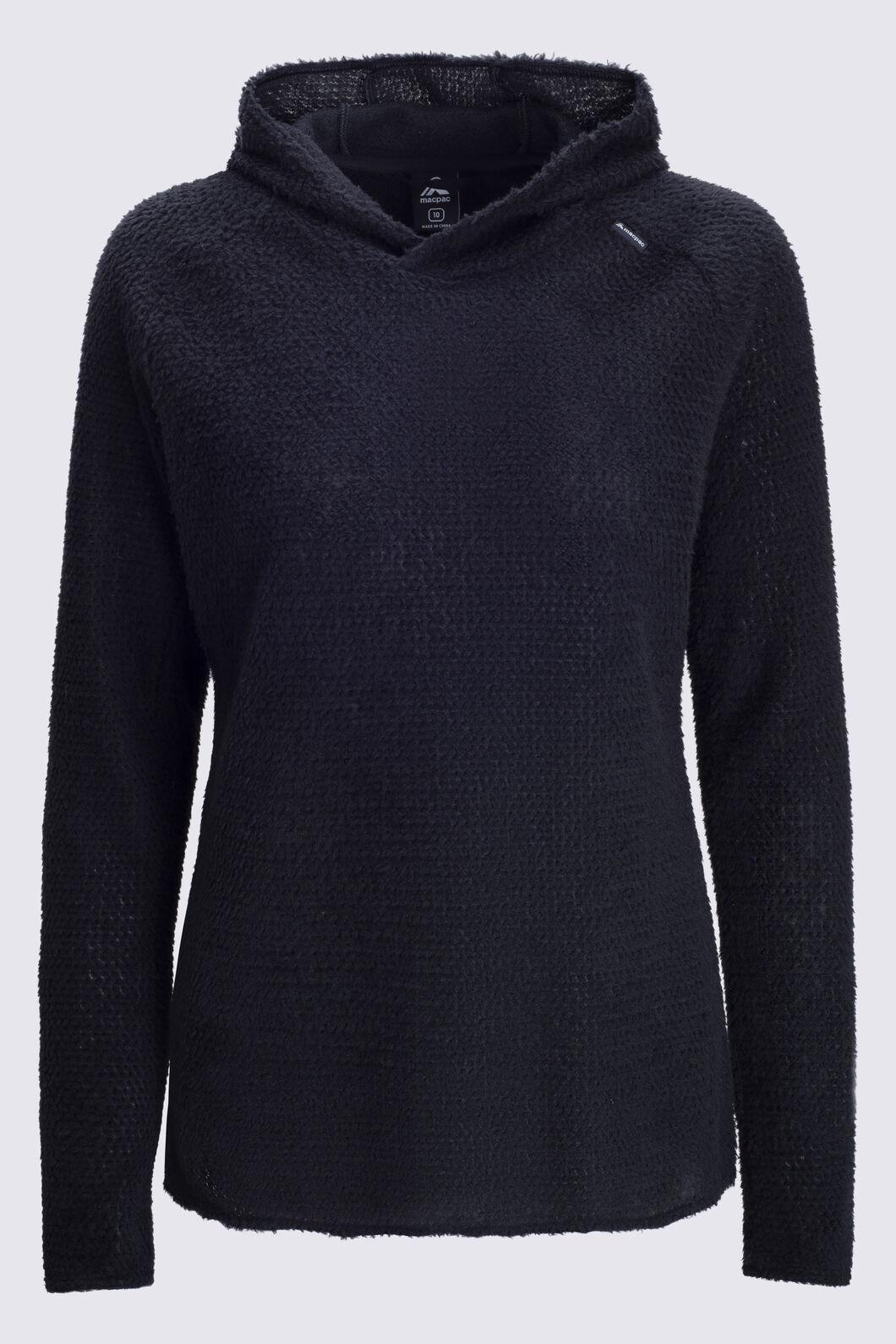 Macpac Women's Nitro Polartec® Alpha® Pullover, Black, hi-res