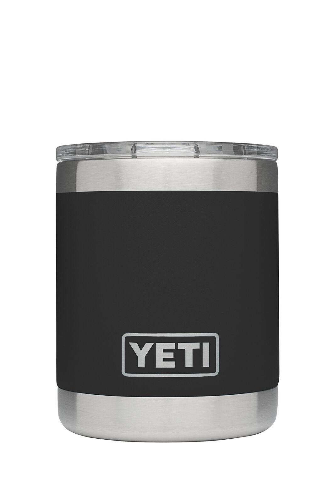 Yeti Rambler Lowball Tumbler Stainless Steel, Black, hi-res