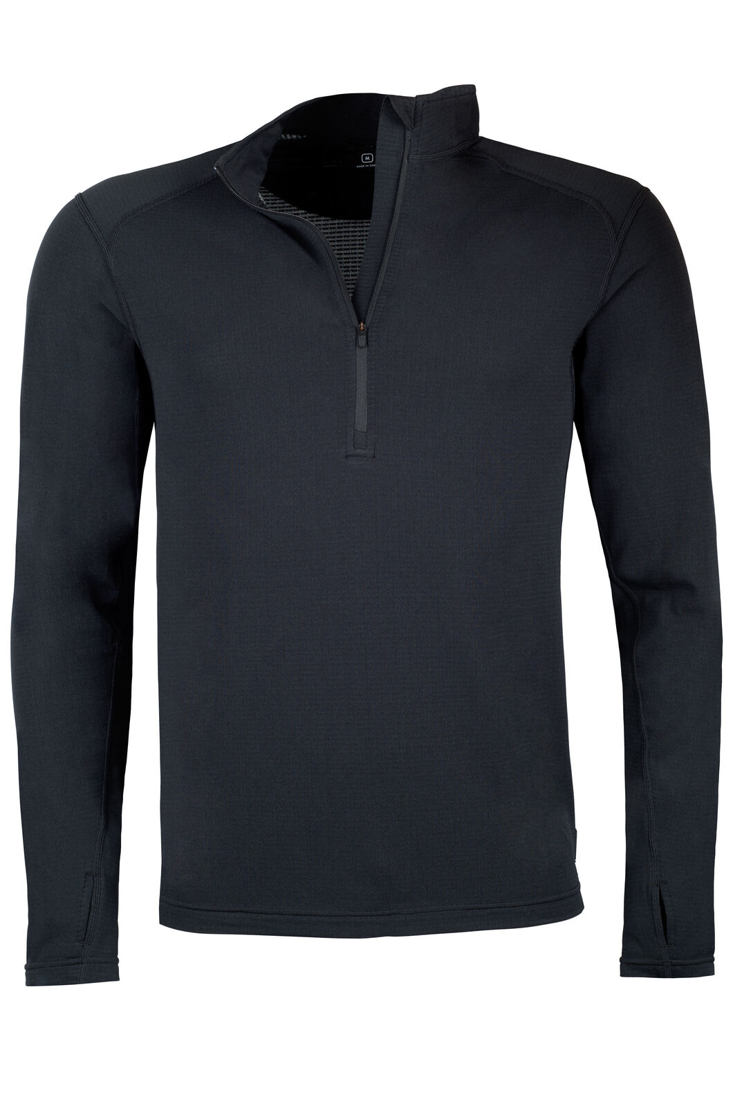 Macpac Prothermal Polartec® Long Sleeve Top — Men's, Black, hi-res