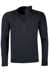 Macpac Prothermal Polartec® Long Sleeve Top — Men's, Black, hi-res