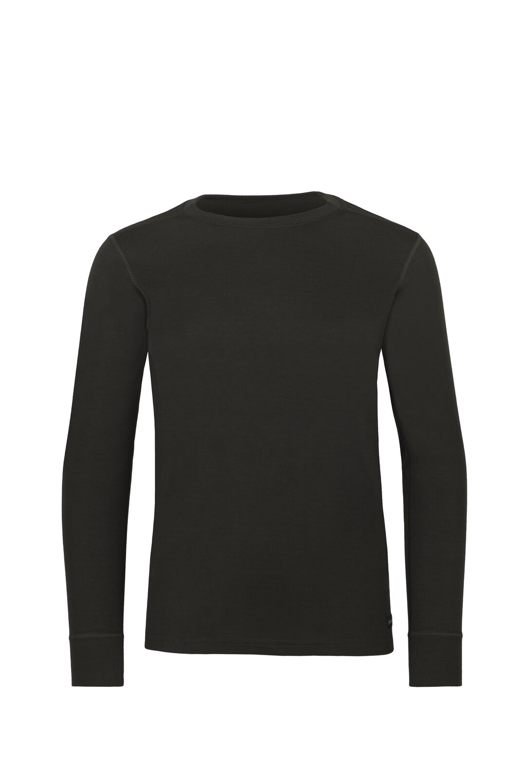 Macpac Geothermal Long Sleeve Top - Kids', Black, hi-res