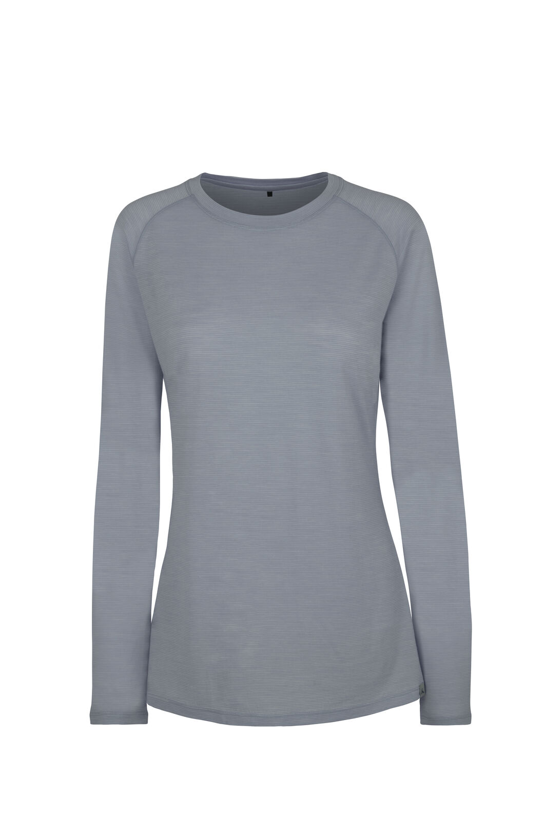 Macpac Hyland Merino Blend Long Sleeve - Women's, Pearl Blue, hi-res
