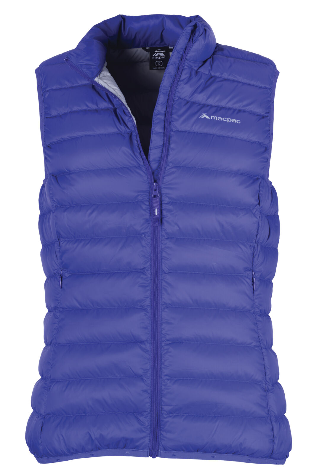 Macpac Uber Light Down Vest — Women's, Deep Blue, hi-res