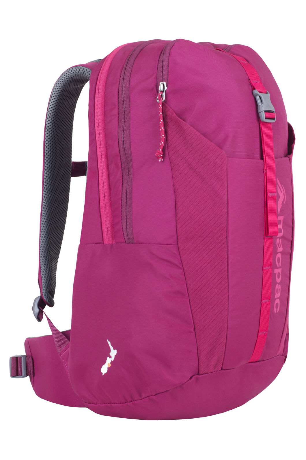 Macpac Summit Ridge 22L Daypack - Kids', Beet Red, hi-res