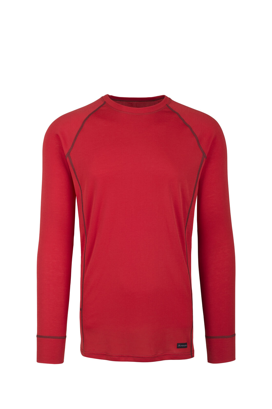 Macpac Geothermal Long Sleeve Top - Men's, Molten Lava/Henna, hi-res