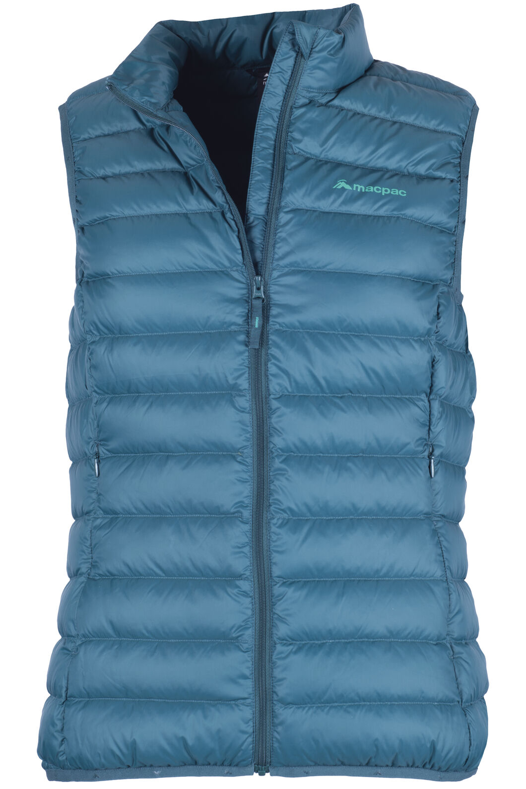 Macpac Uber Light Down Vest — Women's, Deep Teal, hi-res