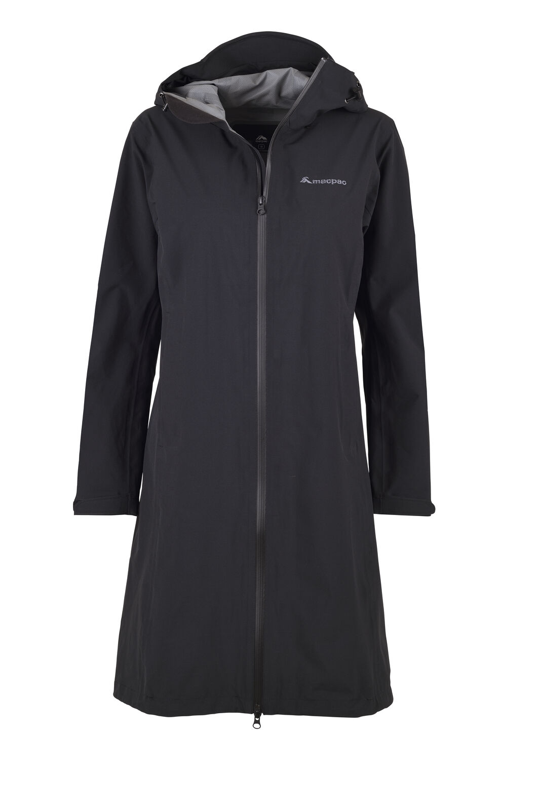 Macpac Dispatch Rain Coat — Women's, Black, hi-res