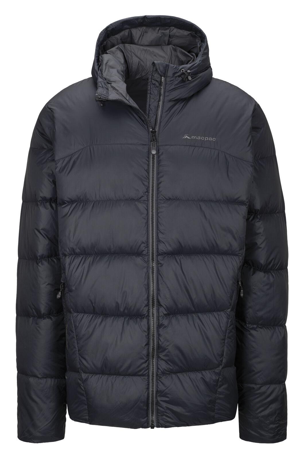 Macpac Sundowner HyperDRY™ Hooded Down Jacket — Men's, Black, hi-res