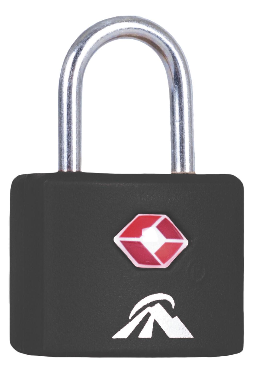 Macpac TSA Key Lock, Black, hi-res