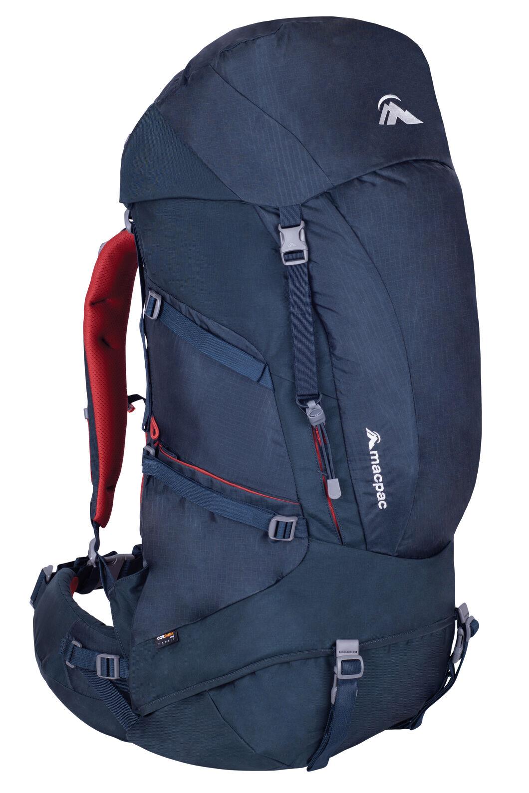 Macpac Torlesse 65L Hiking Pack, Carbon, hi-res
