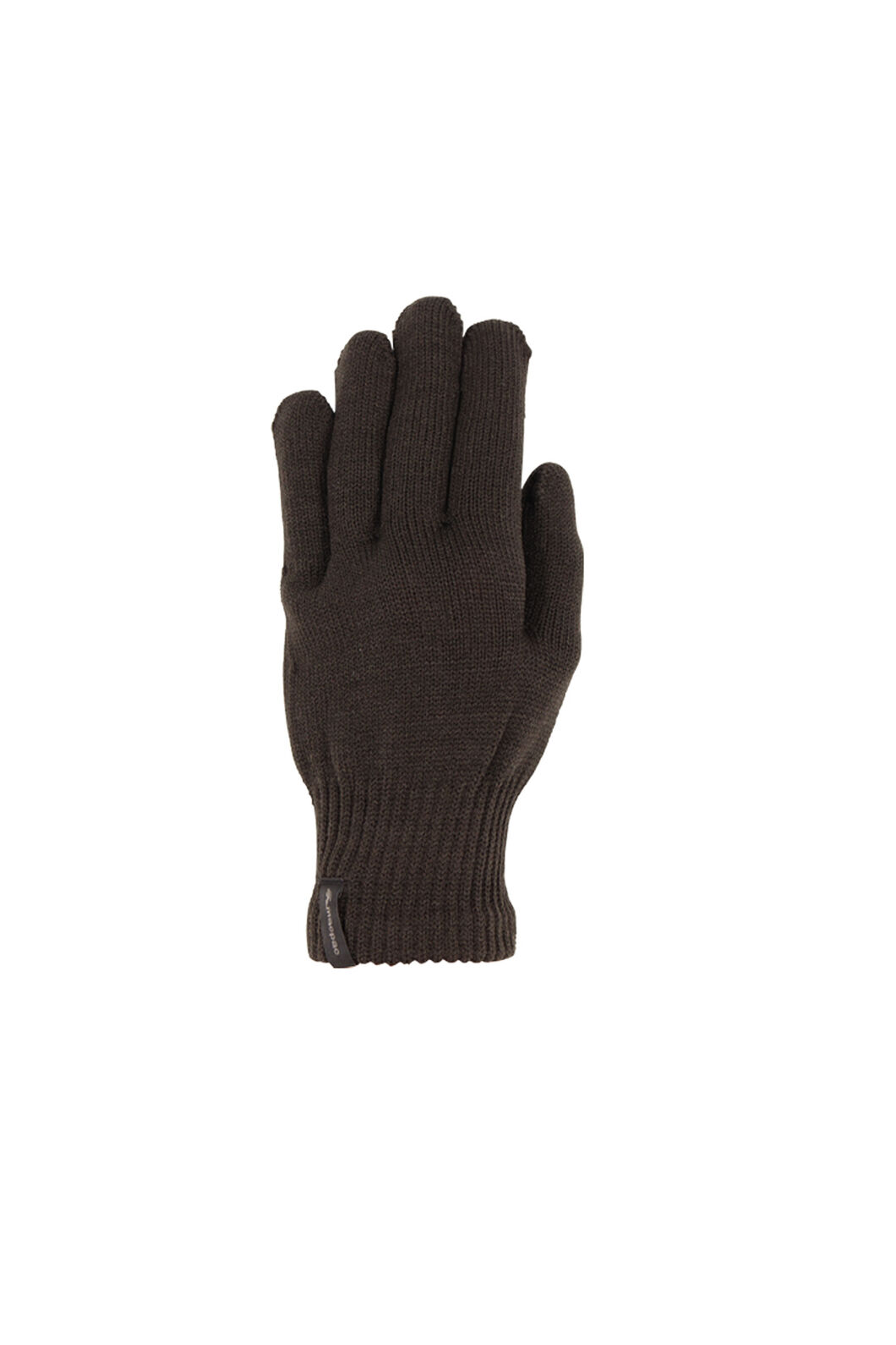Macpac Polypro Gloves, Black, hi-res