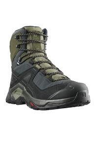 Salomon Men's Quest Element GTX Hiking Boots, Black/Deep lichen Green/Olive, hi-res