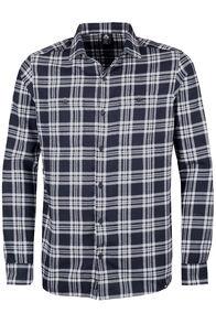 Porters Flannel Shirt - Men's, Black/White, hi-res