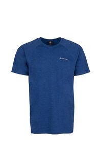 Macpac Take a Hike Short Sleeve Top - Men's, True Blue/Medieval, hi-res