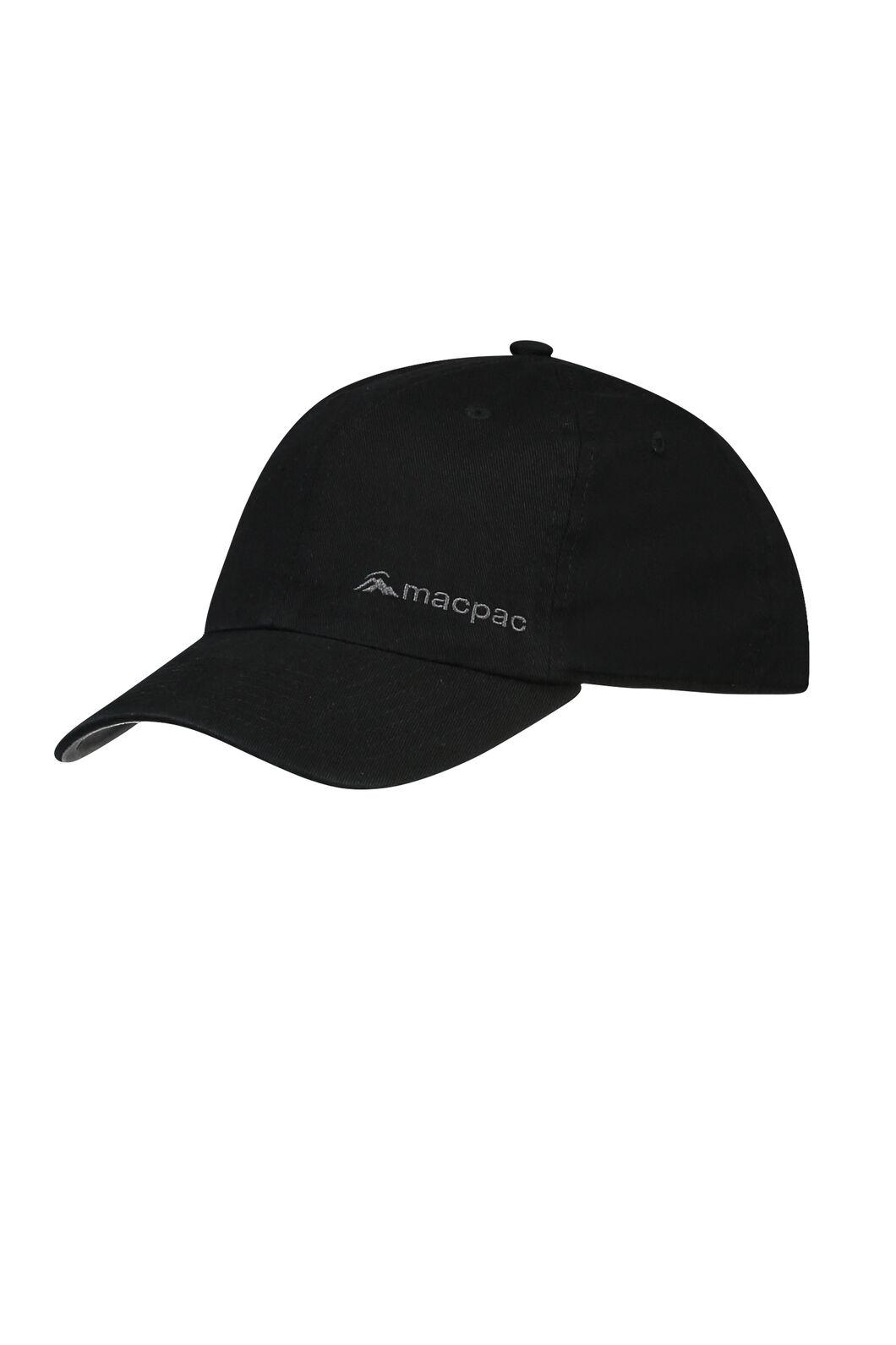 Macpac Cotton Cap, Black, hi-res