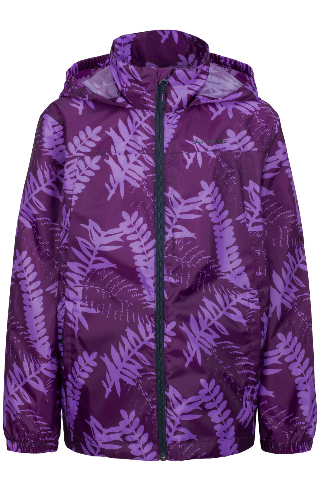 Macpac Pack-It-Jacket — Kids', Amaranth Print, hi-res