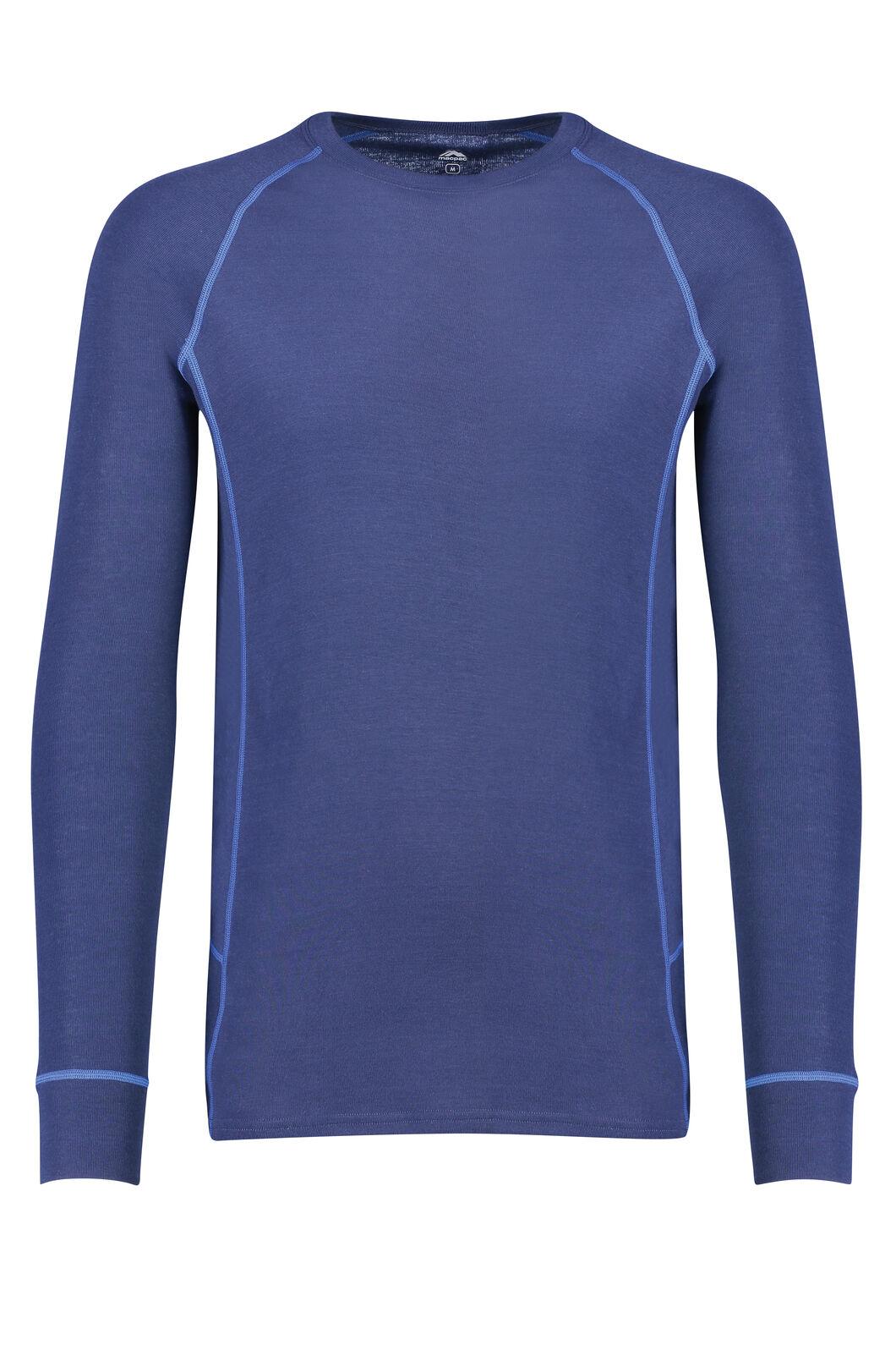 Macpac Geothermal Long Sleeve Top - Men's, Medieval Blue, hi-res