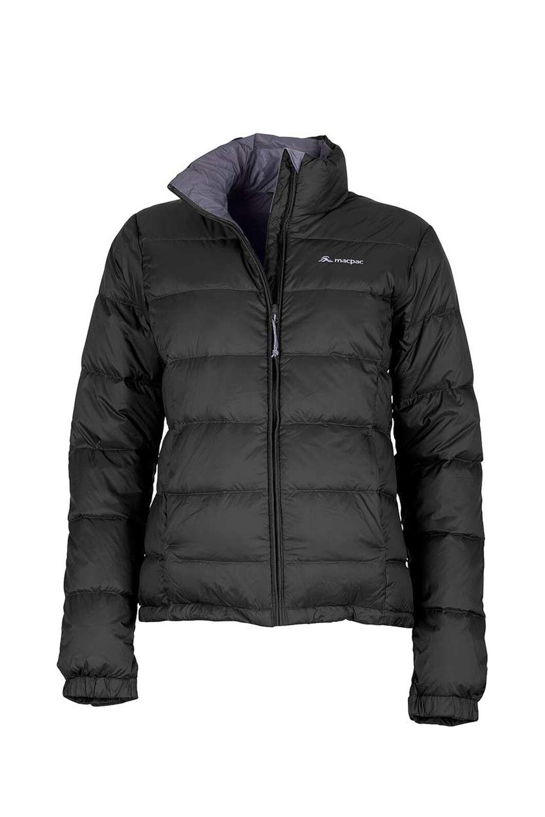 Macpac Halo Down Jacket — Women's, Black, hi-res