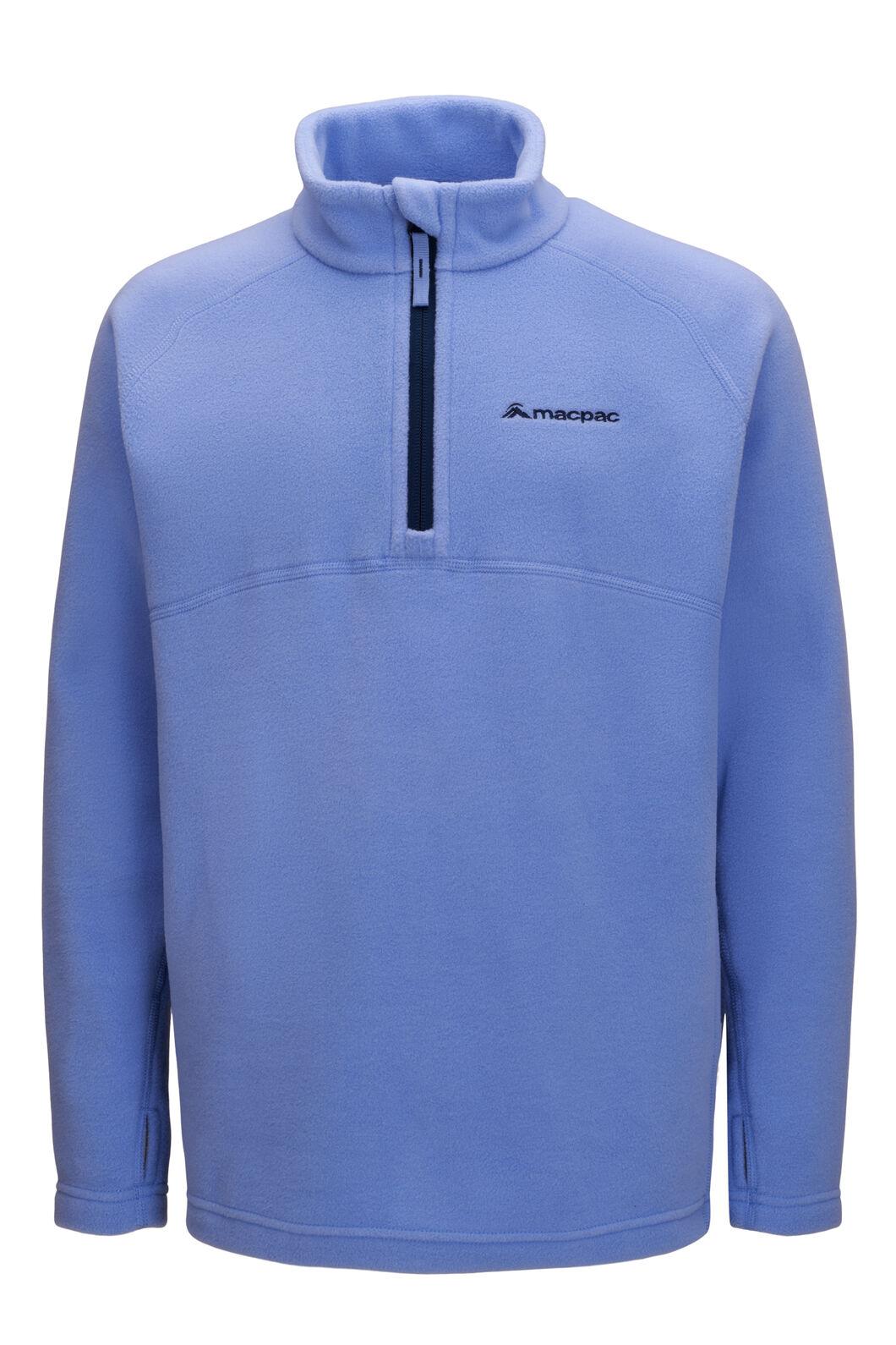 Macpac Tui Polartec® Fleece Pullover — Kids', Cornflower, hi-res