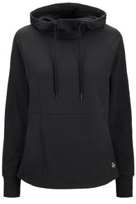 Macpac Rhythm Hooded Pullover — Women's, Black, hi-res