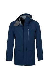Macpac Resolution Pertex® Rain Jacket - Men's, Black Iris, hi-res