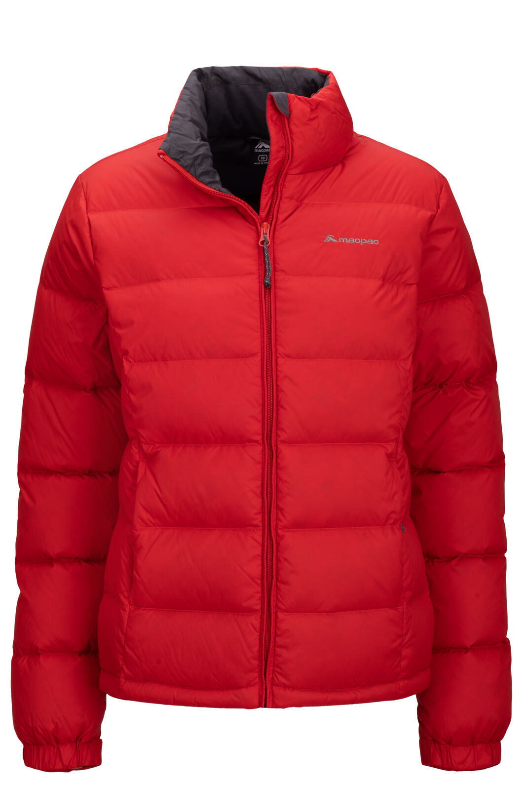 Macpac Halo Down Jacket — Women's, Aurora Red, hi-res