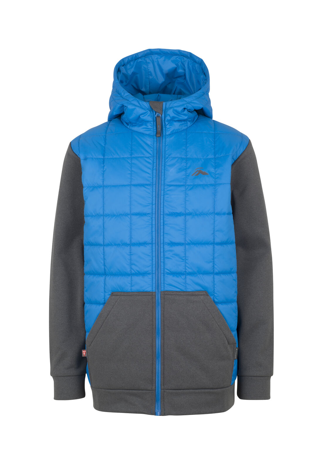 Macpac Campfire PrimaLoft® Hybrid Jacket - Kids', Directoire/Asphalt, hi-res