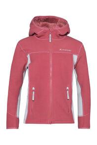 Macpac Mini Mountain Hooded Jacket — Kids', Slate Rose/High Rise, hi-res