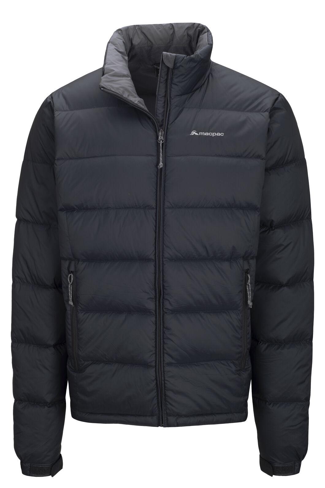 Macpac Halo Down Jacket — Men's, Black, hi-res