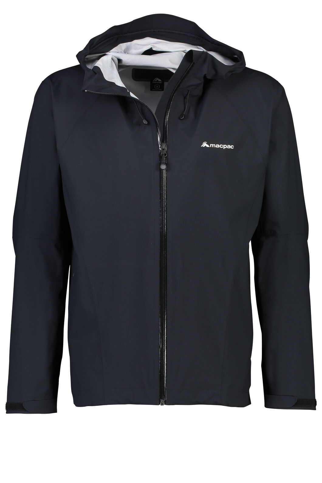 Macpac Less is less Rain Jacket - Men's, Black, hi-res