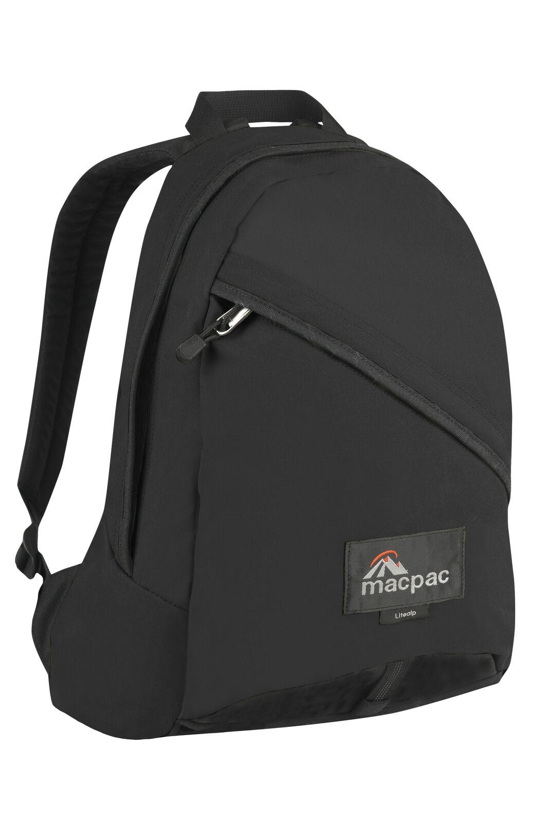 Macpac Litealp 23L AzTec® Backpack, Black, hi-res