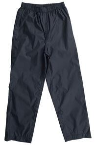 Macpac Pack-It Pants — Kids', Black, hi-res