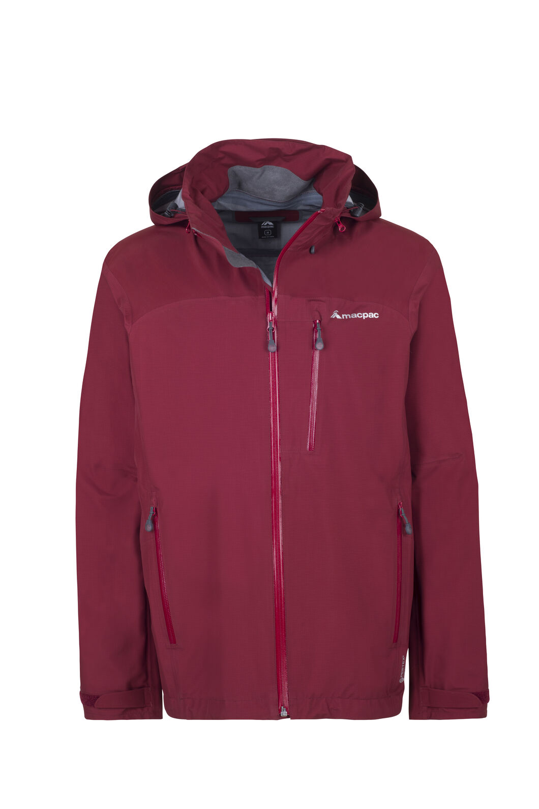 Macpac Traverse Pertex® Rain Jacket - Men's, Syrah, hi-res